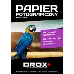 Papier fotograficzny matowy A4 200g/m2 50 arkuszy