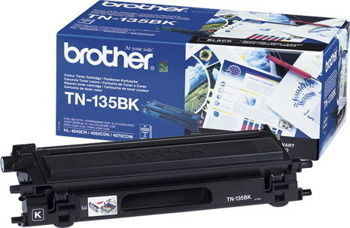 Toner oryginalny Brother TN-135BK