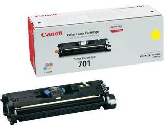 Toner oryginalny Canon 701Y