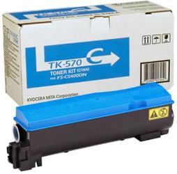 Toner oryginalny Kyocera TK-570C
