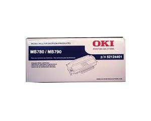 Toner oryginalny Oki 52124401