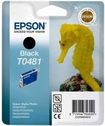Tusz oryginalny Epson T0481 BK