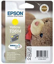 Tusz oryginalny Epson T0614 Y