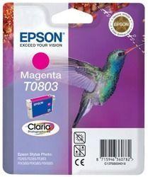 Tusz oryginalny Epson T0803 M