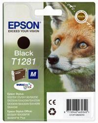 Tusz oryginalny Epson T1281 BK