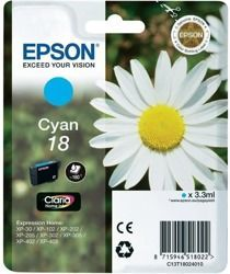 Tusz oryginalny Epson T1802 C