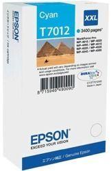 Tusz oryginalny Epson T7012 C