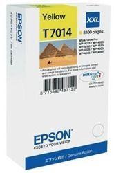 Tusz oryginalny Epson T7014 Y