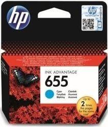 Tusz oryginalny HP 655 C (CZ110AE)