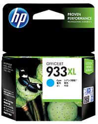 Tusz oryginalny HP 933XL C (CN054AE)