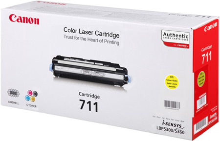Toner oryginalny Canon 711Y