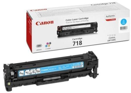Toner oryginalny Canon 718C