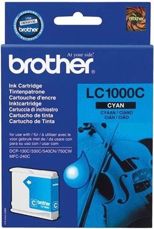 Tusz oryginalny Brother LC1000C