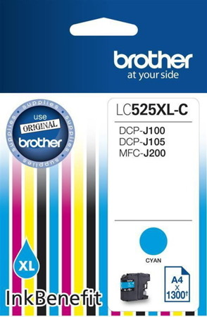 Tusz oryginalny Brother LC525XLC